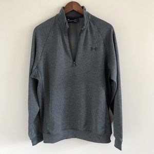 🆕 NWT Men's Under Armour Golf 1/4 Zip Sweater L